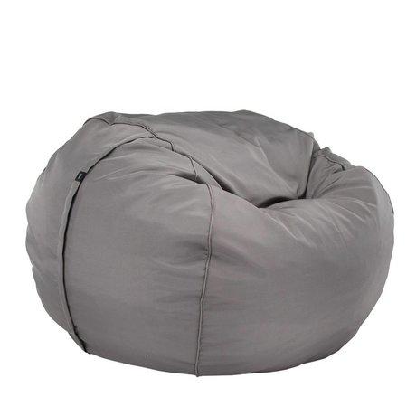 Vetsak extérieur gratuit intriqués Polyester double gris Ø140x90cm 1000Liter