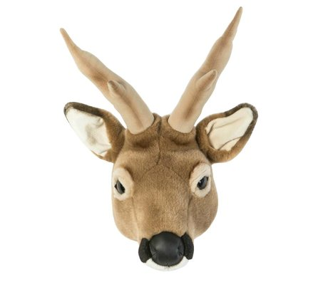 Wild and Soft Animal deer Toby Brown textile 32x23x46cm