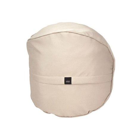 Vetsak Hocker im Freien gratis beige Polyester Ø60x60cm 100 Liter