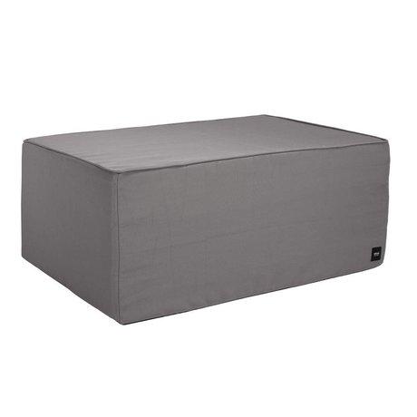 Vetsak Hocker gris extérieur gratuit polyester L 90x58x40cm