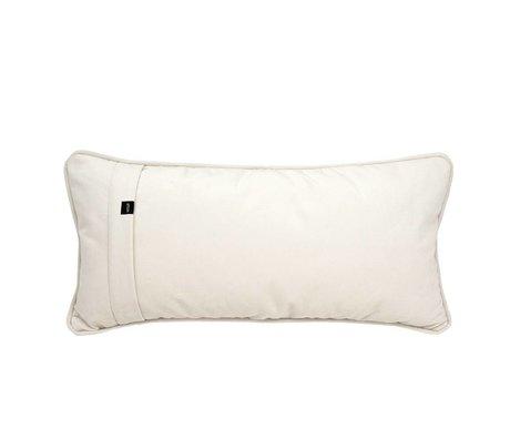 Vetsak Ornamental cushion Velvet cream velvet 60x30cm
