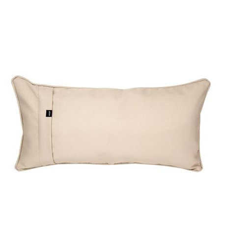 Vetsak Ornamental pillow Free outdoor beige polyester 60x30cm