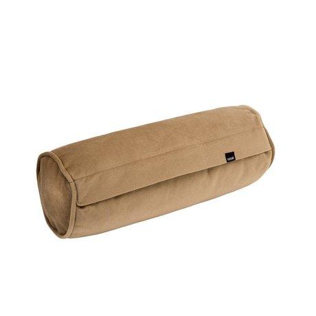 Vetsak Cushion Noodle Velvet Caramel Brown velvet 42xØ16cm
