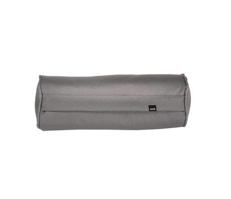 Vetsak Freie im Freien grauen Polyester-Kissen Noodle 42xØ16cm