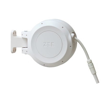 ZEE Mirtoon enrouleur 10m blanc