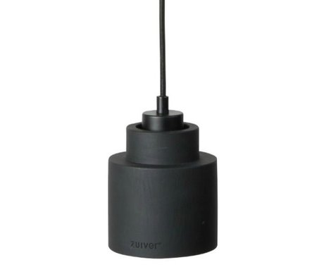 Zuiver Hanglamp Left black, steen zwart 150x11x11cm