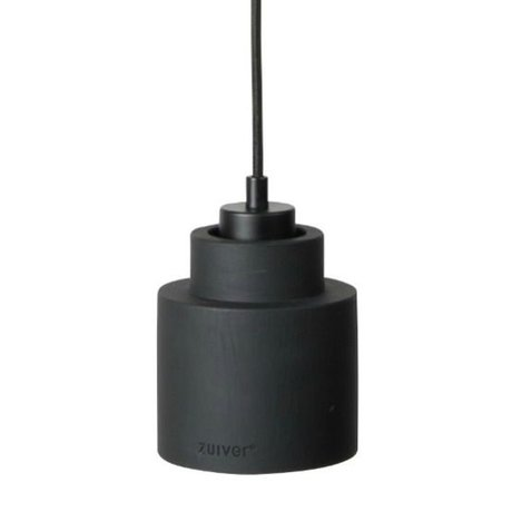 Zuiver Left hanging lamp black, matte black 150x11x11cm