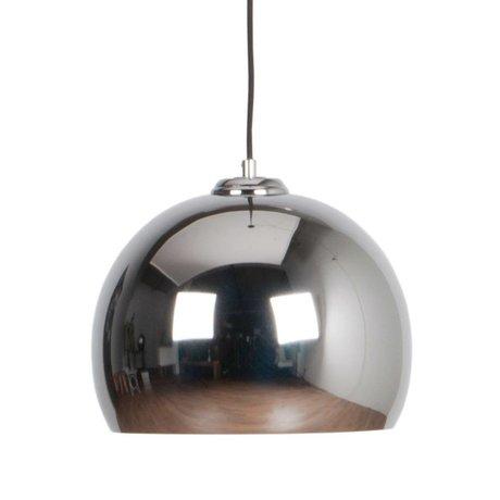 Zuiver Hanglamp Big Glow chrome metaal Ø27x21cm