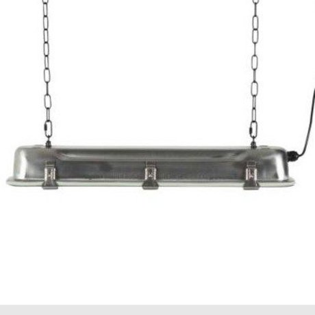 Zuiver GTA pendant lamp nickel, metallic gray 70x14x10cm