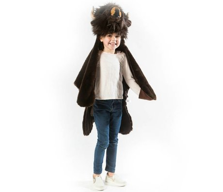 Wild and Soft Disguise Buffalo dark brown textile 99x117x20cm