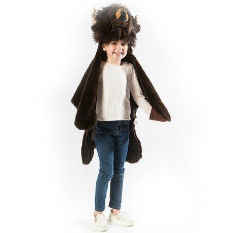 Wild and Soft Buffalo déguisement 99x117x20cm textile noir