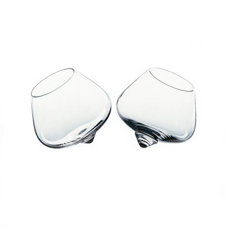 Normann Copenhagen Glass Liqueur glass set of two ø8,5cm
