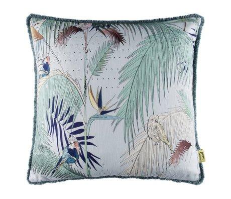 POM Amsterdam Kissen Bambus mintgrün Textil 50x50cm