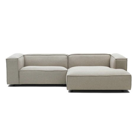 FEST Amsterdam Bank Dunbar beige Polvere21 1.5-seater and divan left or right