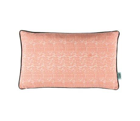 POM Amsterdam Kissen Farbe Tropfen korallfarbene Textil 30x50cm