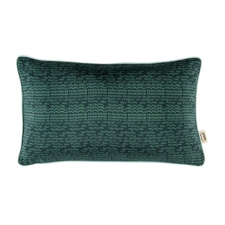 POM Amsterdam Kissen Farbe Tropfen grün Textil 30x50cm