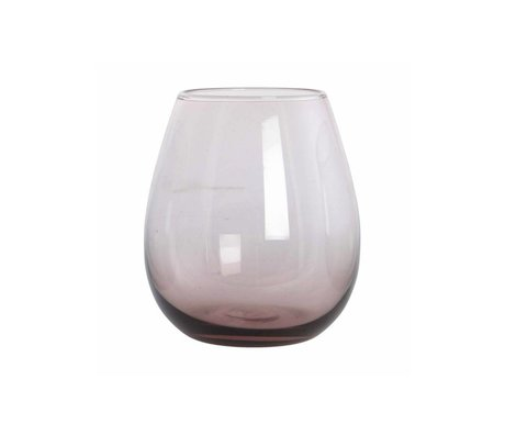 Housedoctor Glas Ball paars glas h:10 cm