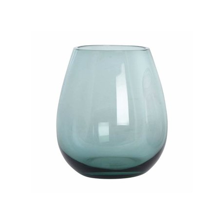 Housedoctor Glaskugel-grünes Glas h: 10 cm