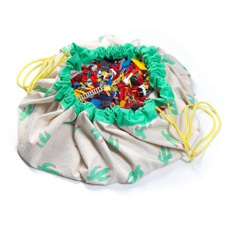 Play & Go Aufbewahrungstasche / playmat Der Kaktus limitierte Auflage Mehrfarbenbaumwoll Ø140cm