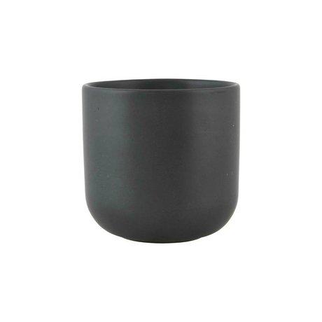 Nicolas Vahe Mok Nista zwart keramiek Ø9x9cm