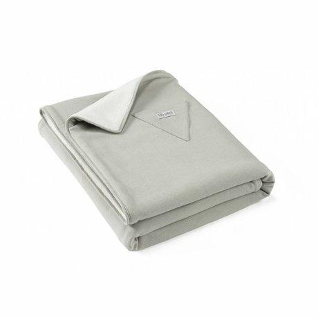 Roomblush Essentials-Babydecke grau Baumwolle 80x100cm