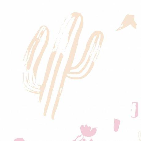 Roomblush Wallpaper Wild und frei rosa Vliestapete 1140x50cm