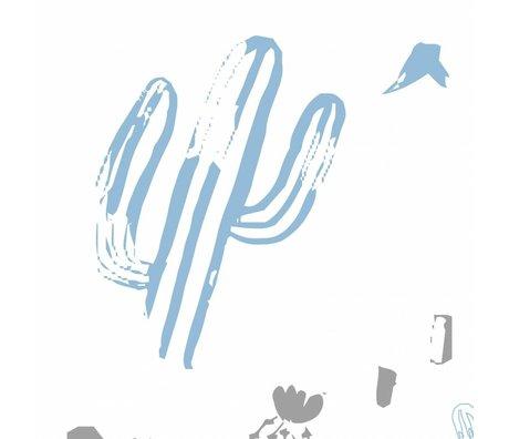 Roomblush Wild und frei Tapete blau Vliestapete 1140x50cm
