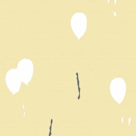 Roomblush Behang Keep dreaming geel vliesbehang 1140x50cm