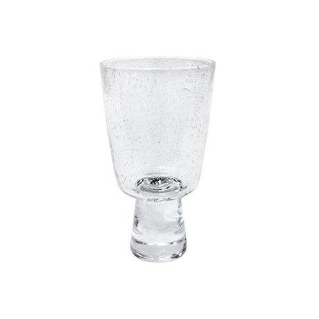 HK-living Weinglas Rotwein 70er transparentem Glas 8x8x15cm