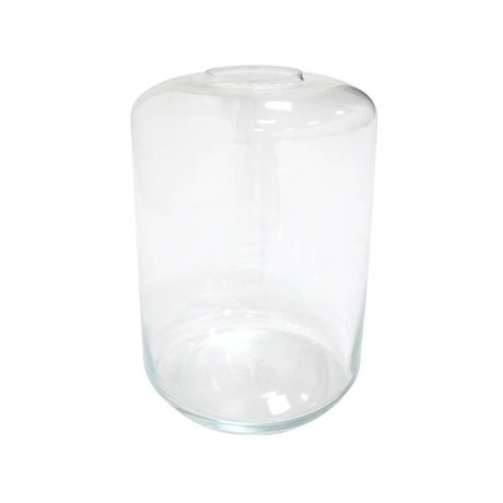 HK-living Vase mini garden transparent glass 28x28x44cm