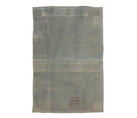 HK-living Teppich Vintage graue Leinwand 180x280cm