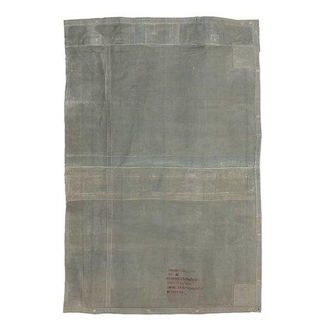HK-living Rug toile grise cru 180x280cm