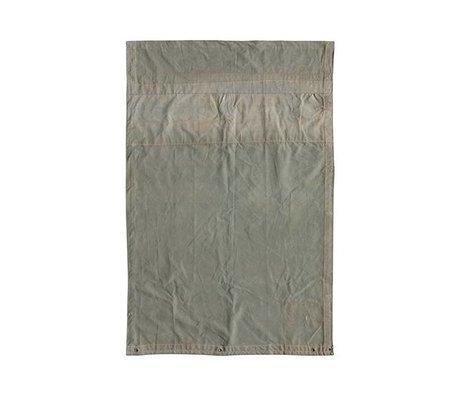 HK-living Vloerkleed vintage grijs canvas 120x180cm