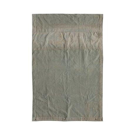HK-living Tapis toile grise cru 120x180cm