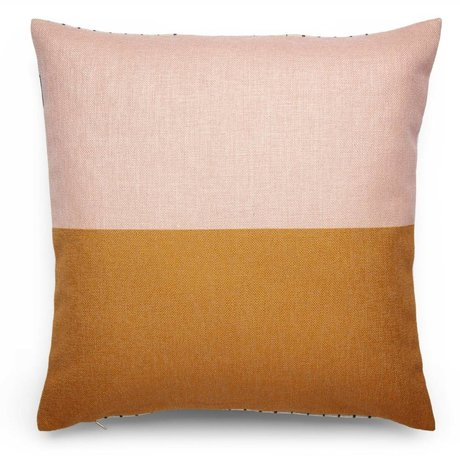FÉST Jeter oreiller fard à joues (FEST x Mae Engelgeer) 45x45cm coton multicolor