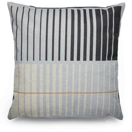 FÉST Cushion Deep (FEST x Mae Engelgeer) multicolored cotton 45x45cm