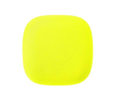 Jalo Détecteur de fumée 10 Kupu de 11x11x3,9cm en plastique jaune