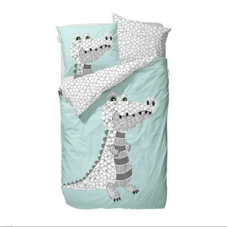 Covers & Co Duvet Frankie mintgrün 140x220cm inkl. 1 pillowcase 60x70cm