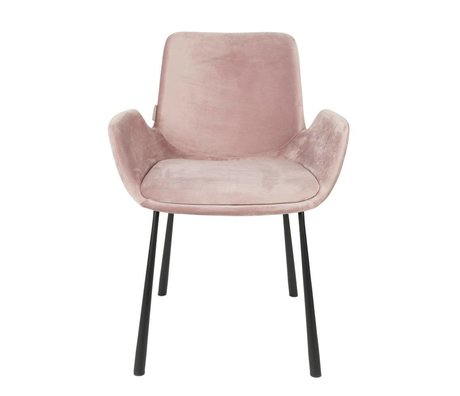 Zuiver CHAISE Brit 59x62x79cm polyester rose