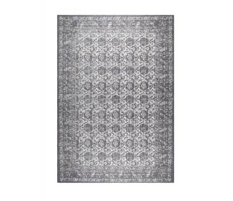 Zuiver Floor cover Malva dark gray cotton 240x170cm