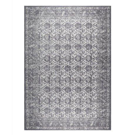 Zuiver Floor cover Malva dark gray cotton 300x200cm