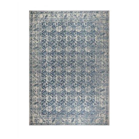 Zuiver Teppich Malva Denim blau Baumwolle 240x170cm