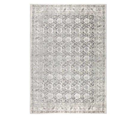 Zuiver Tapis Malva coton gris 300x200cm