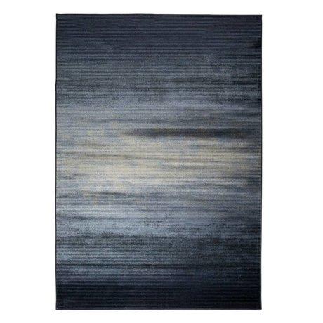 Zuiver Floor cover Obi blue textile 300x200cm
