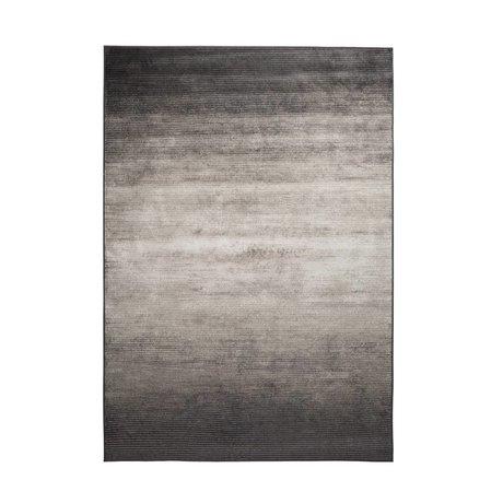 Zuiver Vloerkleed Obi grijs textiel 240x170cm