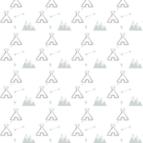 Roomblush Wallpaper Tipi graues Papier 1140x50cm Batch Datum 26-06-2017