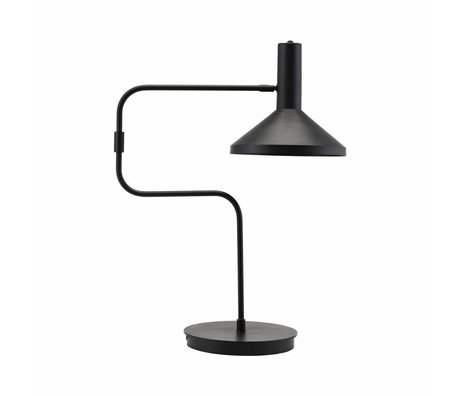 Housedoctor Table lamp Black metal 66cm