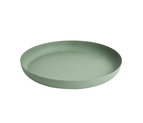 pt, Dienblad Nimble green iron Ø27x3.5cm