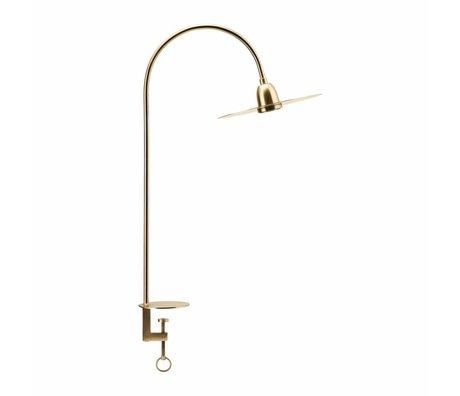 Housedoctor Tafellamp Glow brass goud metaal 79cm