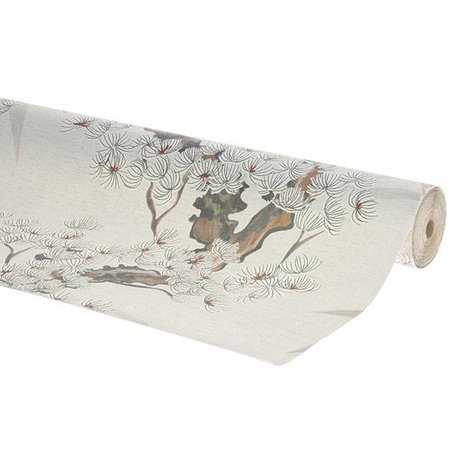HK-living Wallpaper cherry tree multicolour wallpaper 0.53x10.05m